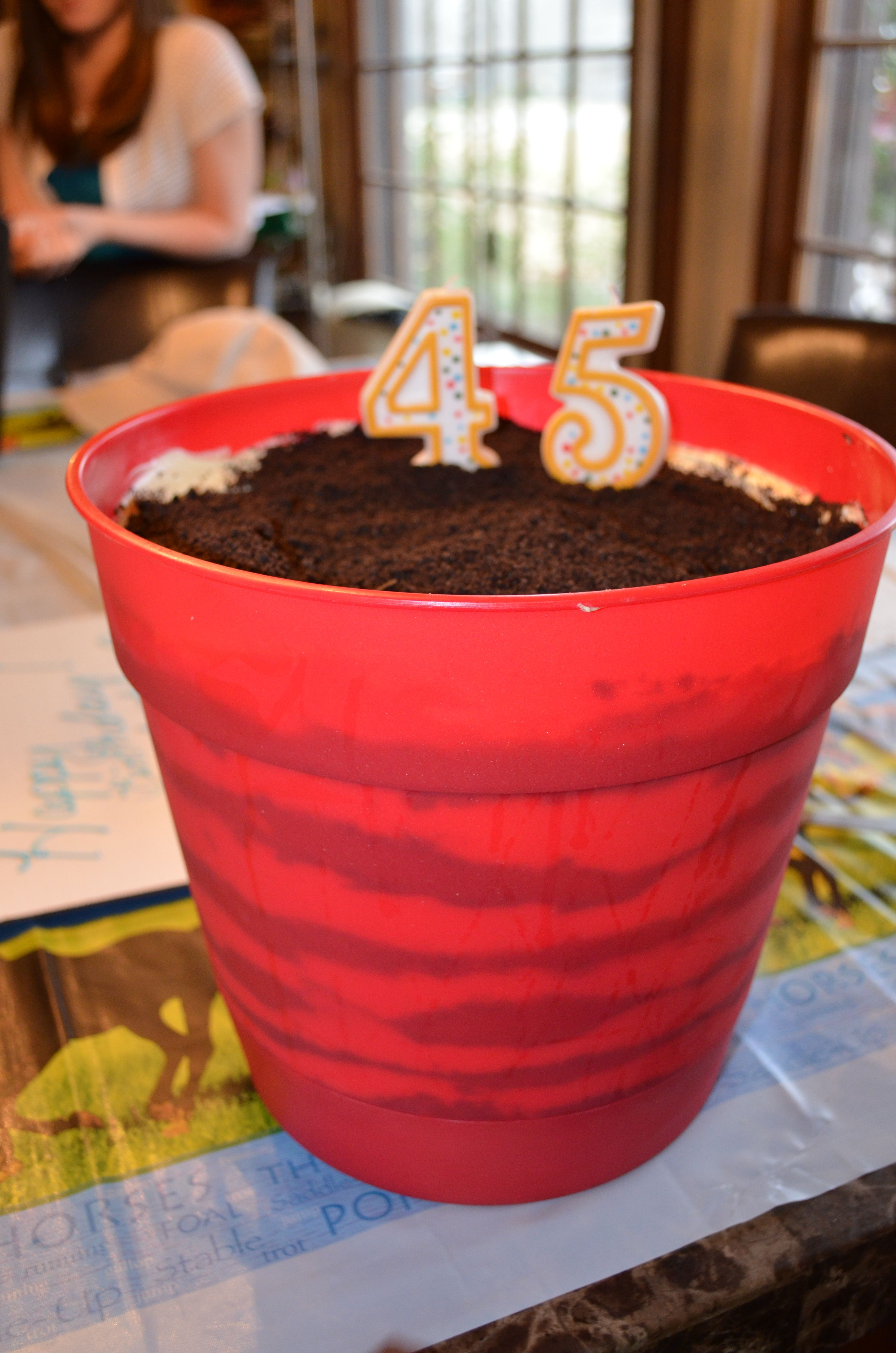 Older Than Quot Dirt Cake Quot Favorite Recipes 50th Birthday