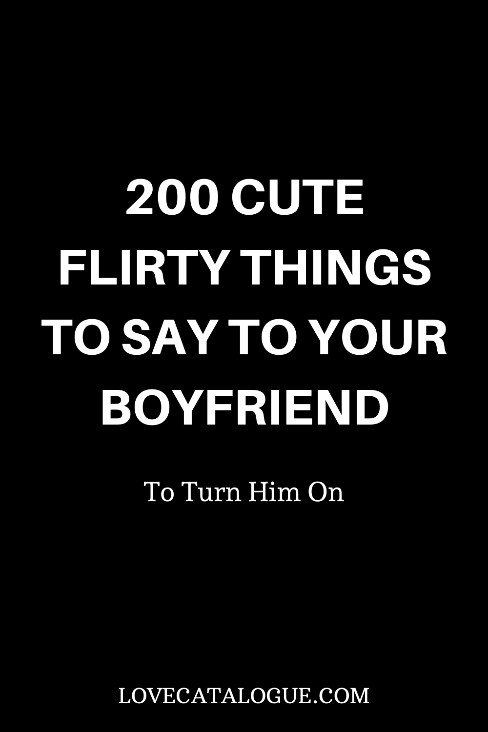 Man things to him a turn on text to How to