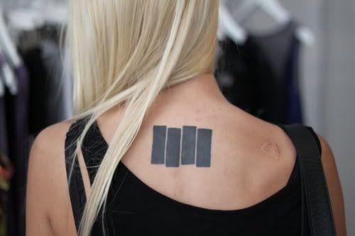 Photo Blanc E Tattoos Black Flag Tattoo Cool Tattoos