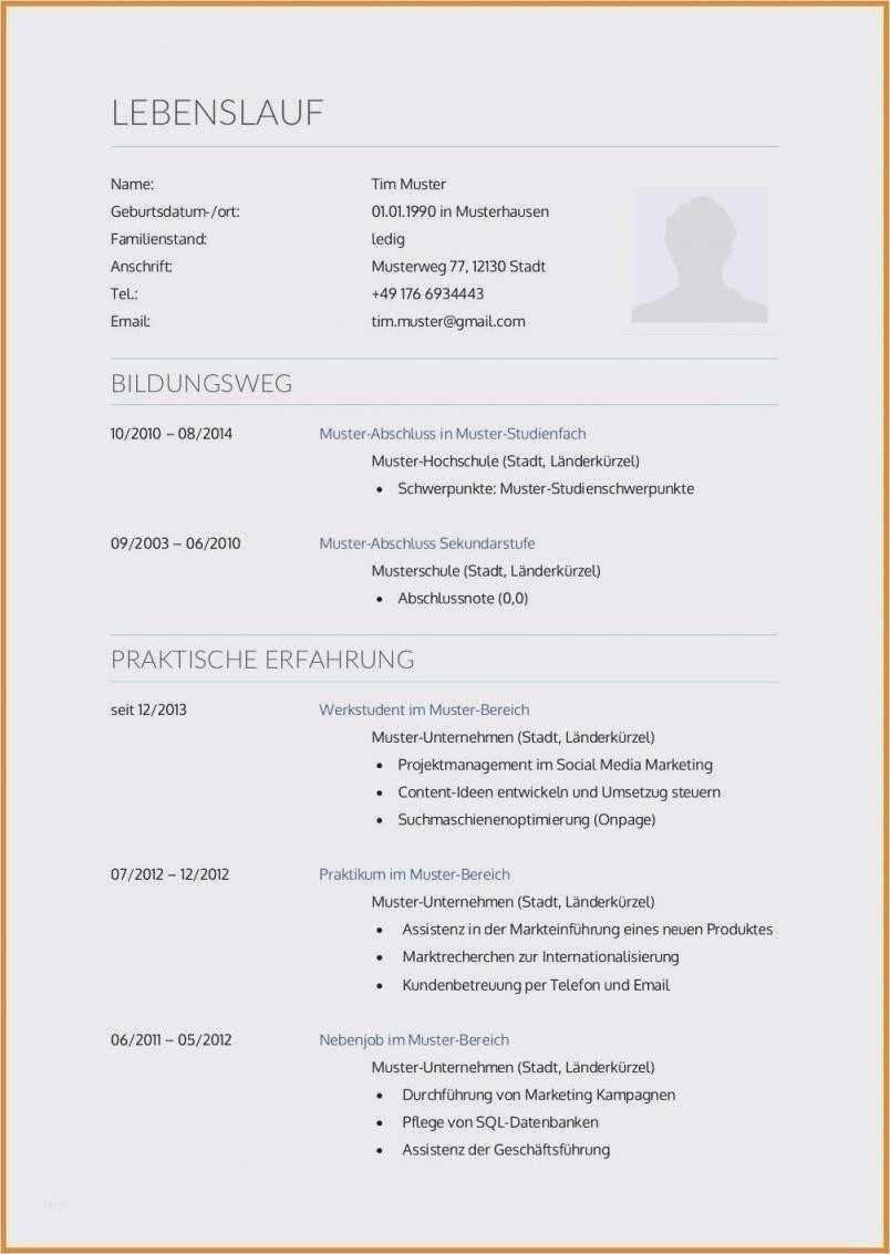 Infos Zur Bewerbungsmappe 1