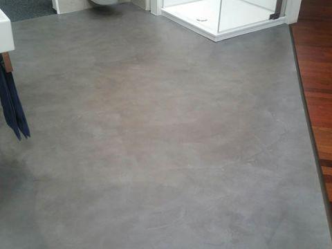 Fußboden Fliesen Spachteln ~ Moderner spachtel fussboden maleralltag fußboden