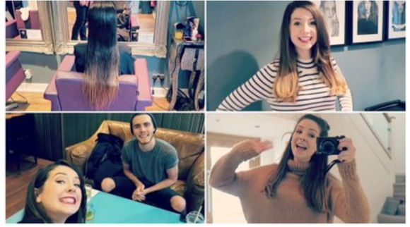 Photos Of Zoella Haircut she cut it off even more | GirlBeautyTips