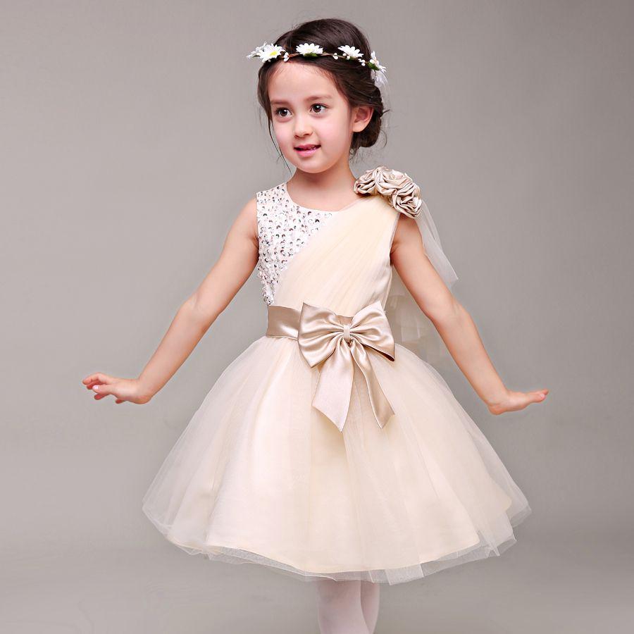 Anlencool 2017 The new children\'s dress girls princess dress wedding ...