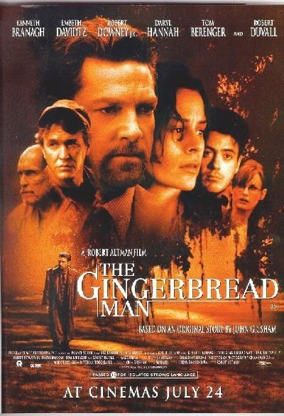 Conflitto D Interessi 1998 The Gingerbread Man Movie Gingerbread Man Man Movies