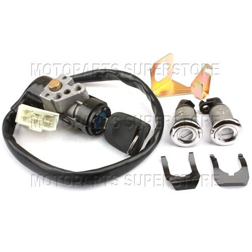 Ignition Switch Key Set 5 Wires Moped Scooter Gy6 50cc 150cc