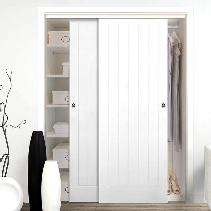Sliding Wardrobe Doors Sliding Door Kits Bedroom Directdoors Com Kast Slaapkamer Kast Opslag Ikea Kledingkast