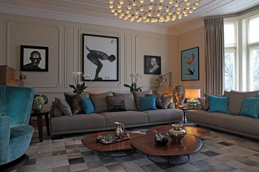 Knightsbridge home by Staffan Tollgard Living Rooms Pinterest