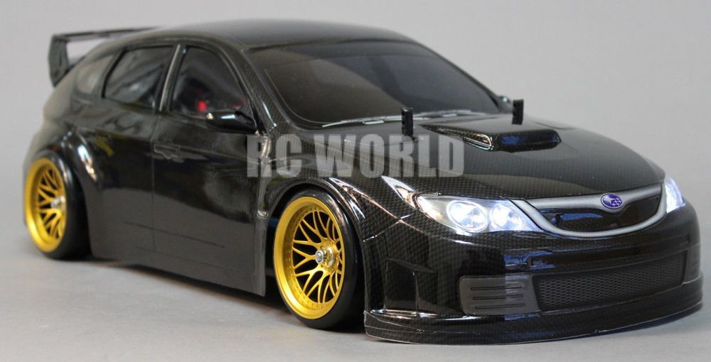 Custom Tamiya 1 10 Rc Car Subaru Impreza Sti Drift L E D Lights Ready To Run Tamiya Rc Cars Subaru Impreza Wrc Subaru Impreza Sti