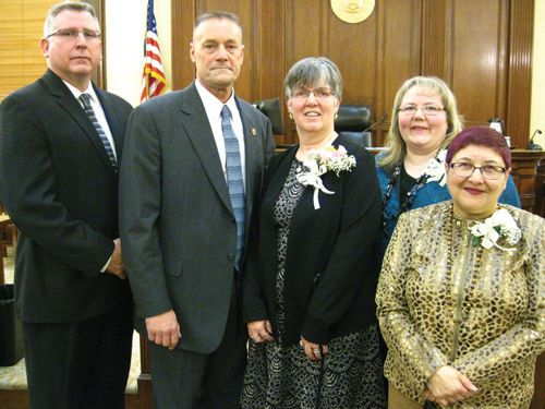 Swearing in 01/01/2016 at Greene County Courthouse  Under