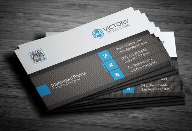 Print Ready High Resolution Corporate Business Card Free Web - Business card templat