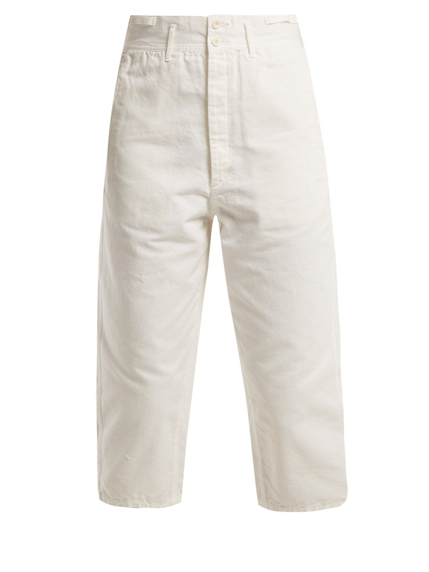 Chimala recortados de algodón Pantalones Farmer's Work de HwZ0xq