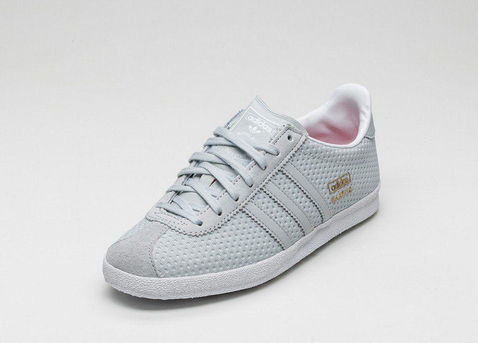 adidas Gazelle OG W (Clear Grey / Clear Grey / Lush Pink)