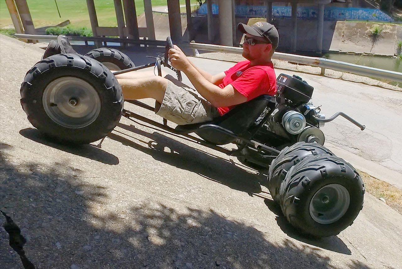 Our new 6 wheel go kart. | Go-Kart How To Videos | Pinterest ...