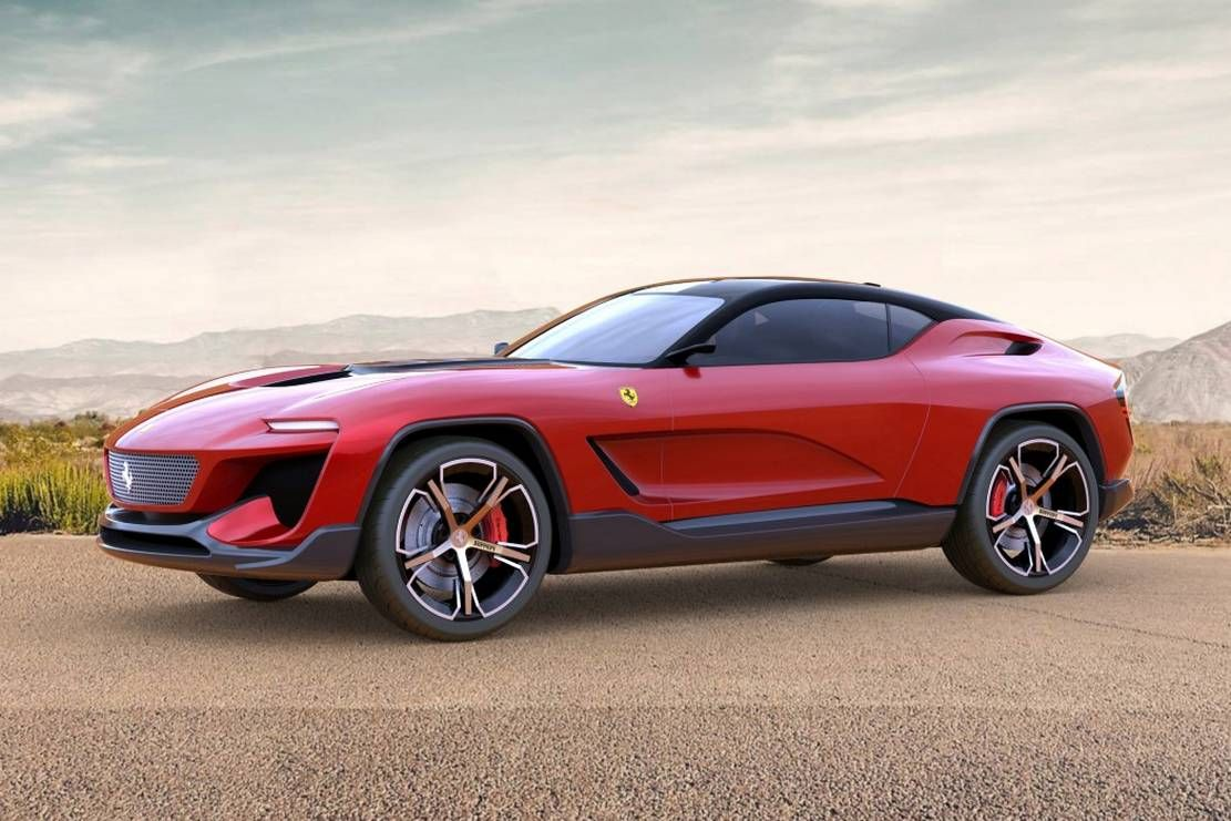 Ferrari Gt Cross Suv Concept Wordlesstech In 2020 Ferrari Design Crossover Suv