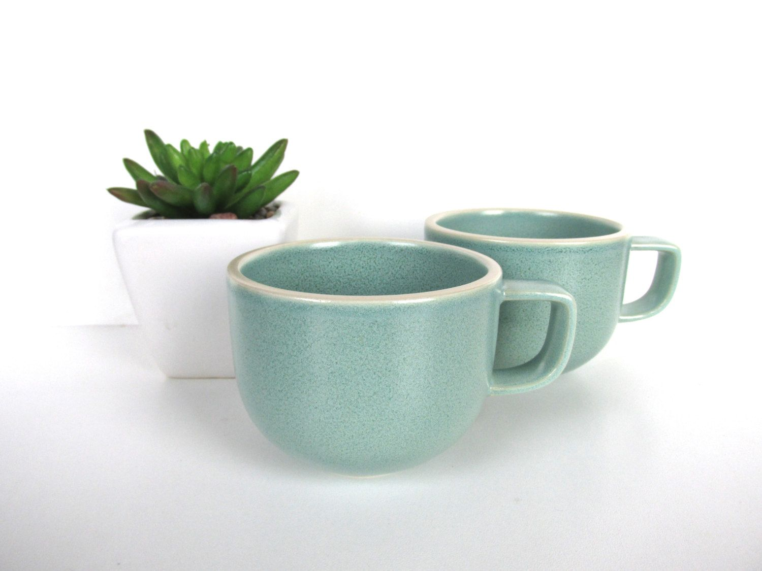 single massimo vignelli sasaki colorstone coffee mug in matte vert de grissea foam green post modern coffee cup minimalist kitchen. single massimo vignelli sasaki colorstone coffee mug in matte vert