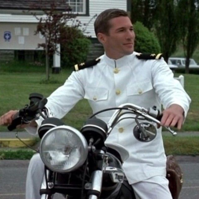 """""""My fellow Americans, ask not what your country can do for you, ask what you can do for your country."""" - John F. Kennedy Happy Memorial Day Richard Gere in """"An officer and a gentleman, 1982"""" #manoftheworld #richardgere #officer #gentleman #triumphbike #jfk #gentlemen #triumphbikes #triumphbonneville #bonneville #vintagebikes #memorialday #usa #american #ufficialegentiluomo #army #memorialday14 #kennedy #USA #memory #Padgram"""