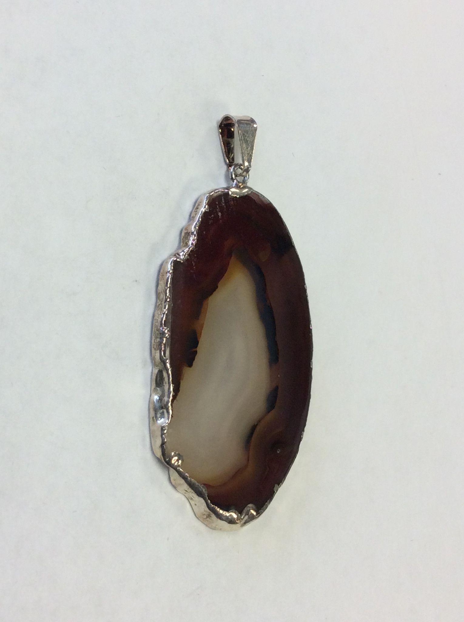 Silver Pendant Agate