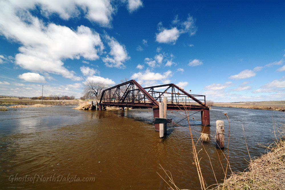 Romness Bridge in Griggs County, North Dakota.
