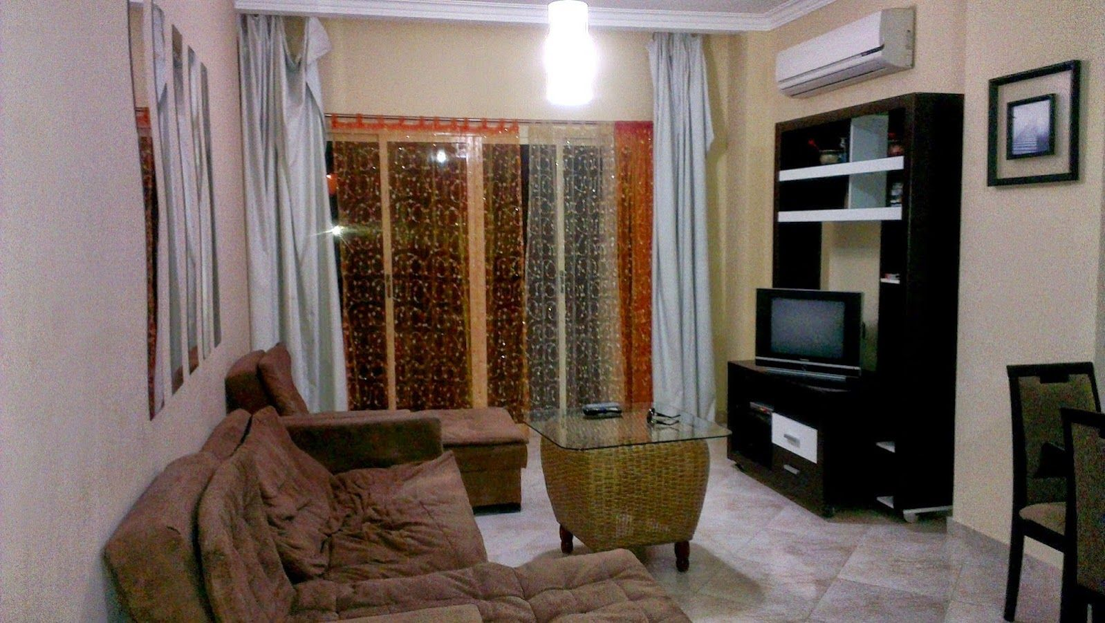 1 Bedroom Apartment For Rent In Hurghada Fully Furnished Open Plan Kitchen Bathroom With Shower 1 Bedroom Apartment One Bedroom Apartment Apartments For Rent