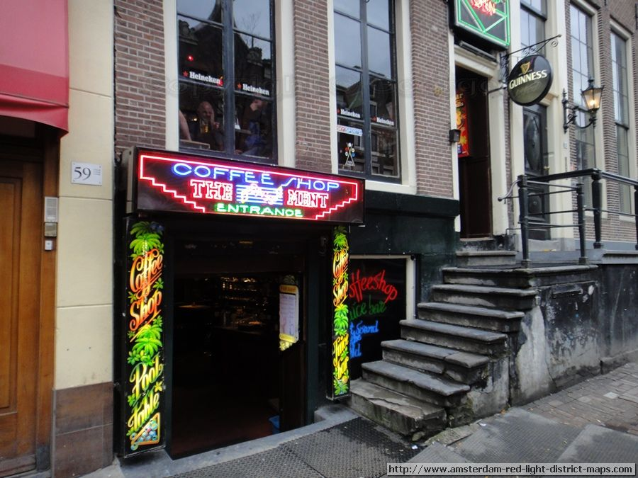 The Bassment Coffeeshop At Oudezijds Achterburgwal 61 Amsterdam