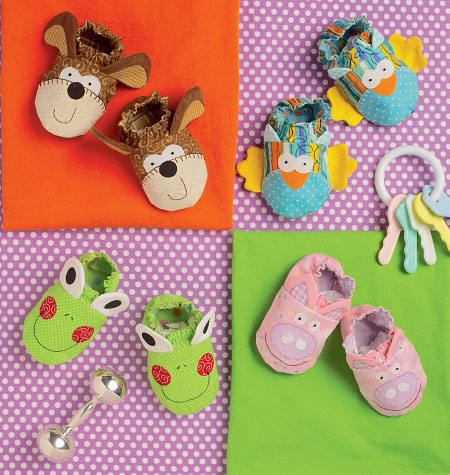 0df55688a42c8 Kwik Sew Pattern  K0170 Babies Booties — jaycotts.co.uk - Sewing Supplies