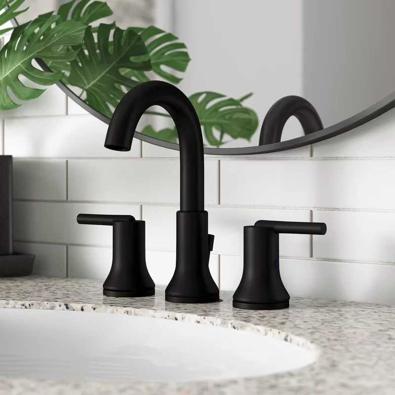 Trinsic Widespread Bathroom Faucet With Drain Assembly And Diamond