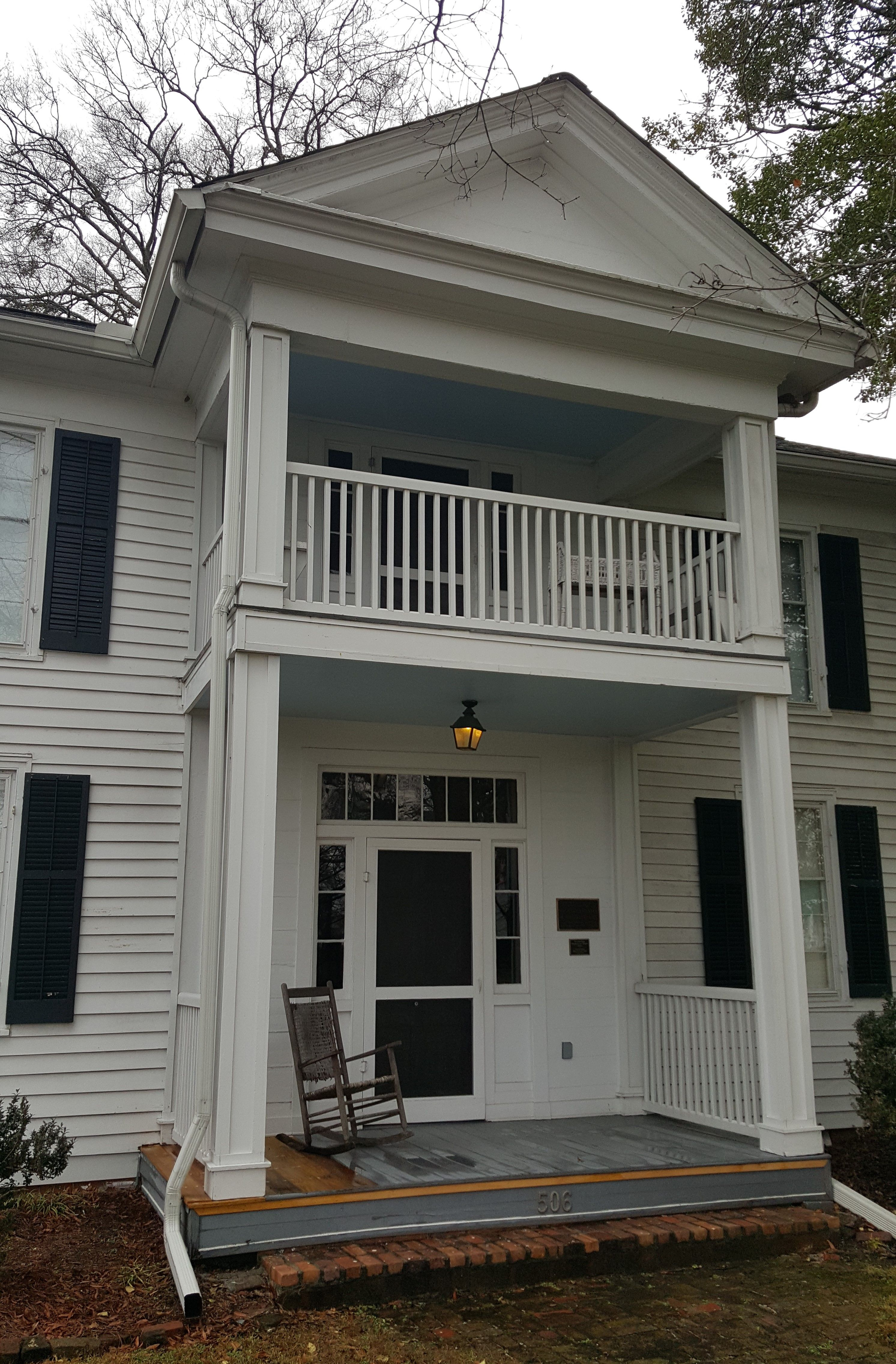 Blunt house dalton ga the first 2story house built in