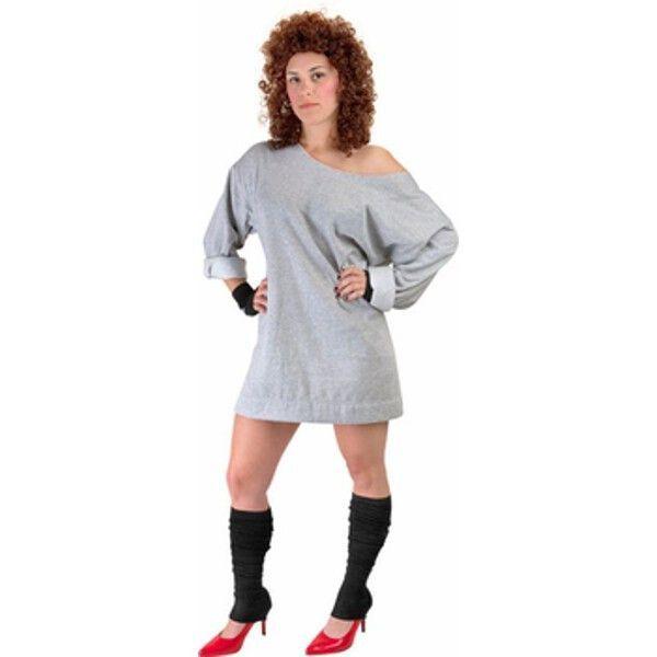 Adult 80\u0027s Flash Dance Costume