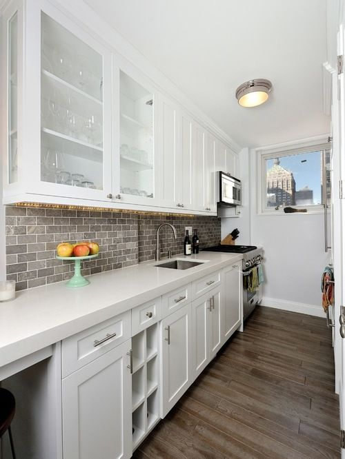 Best Awesome White Brick Kitchen Backsplash 400 x 300