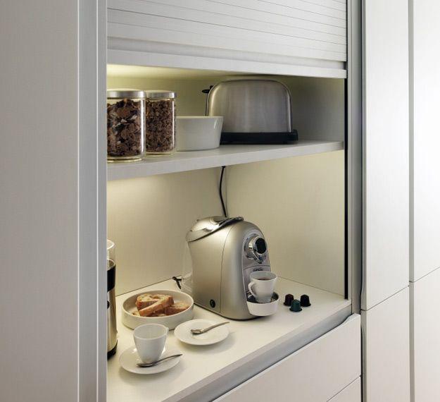 Muebles de cocina xey 3 claves para aprovechar el espacio - Aprovechar espacio cocina ...