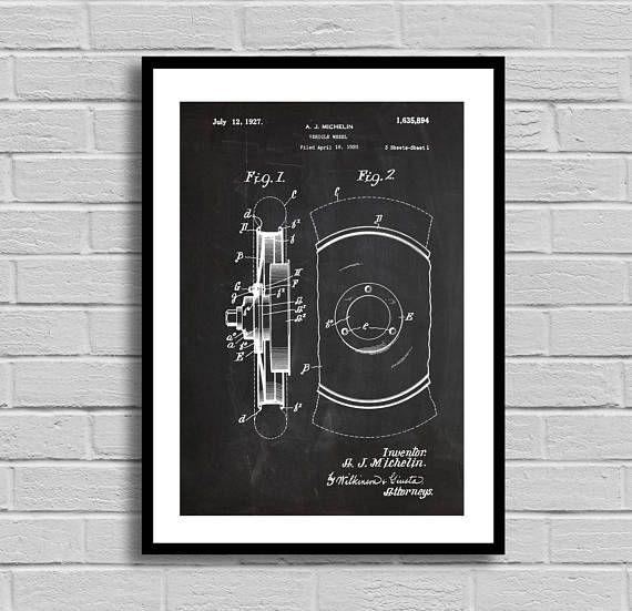 Tire Patent, Tire Patent Poster, Tire Blueprint, Tire Print - new blueprint software ios