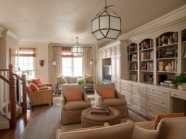 Lauren Liess, Capital Hill Rowhouse. Two seating ...