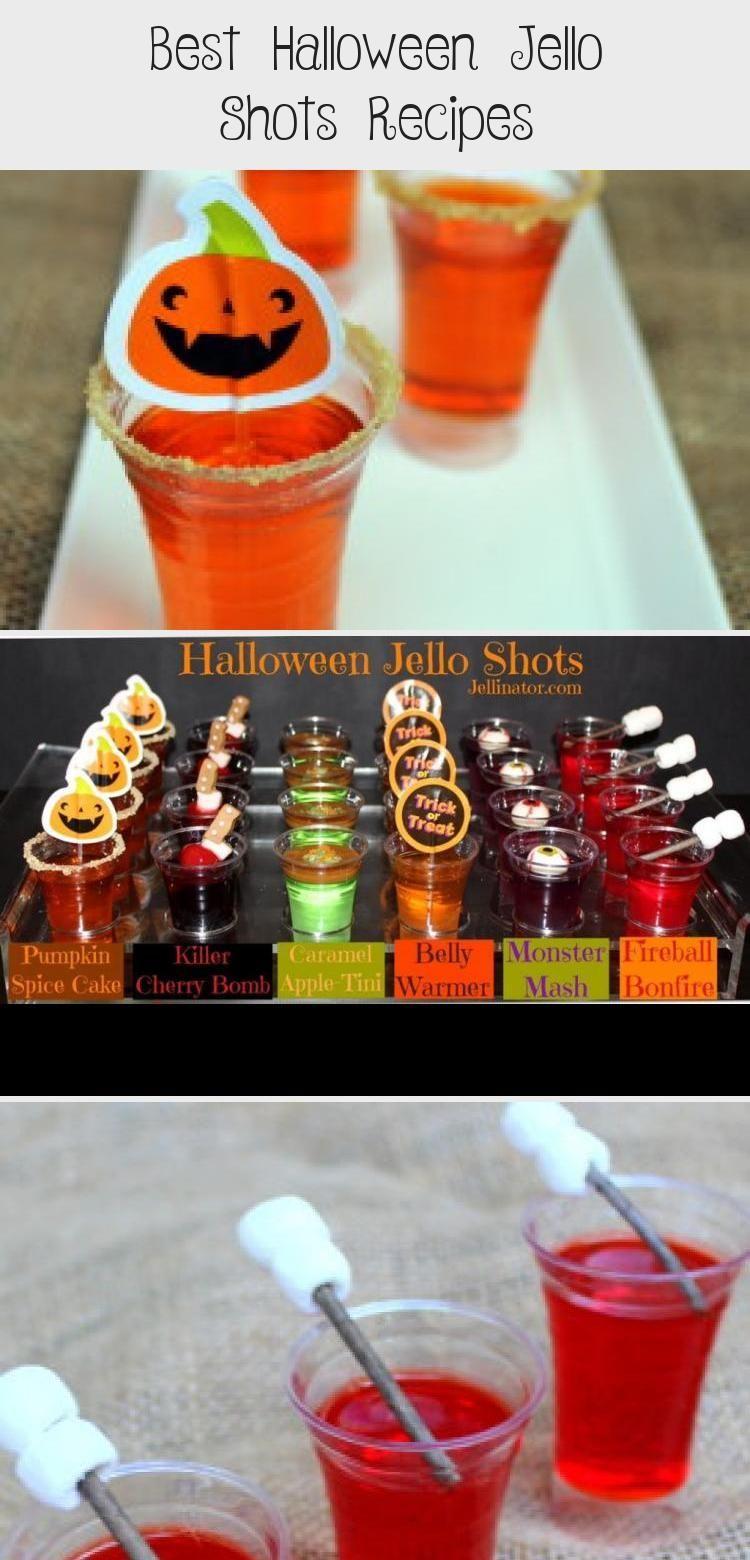 Best Halloween Jello Shots Recipes #halloweenjelloshots HALLOWEEN JELLO SHOTS - Jellinator.com #FoodandDrinkHalloween #halloweenjelloshots
