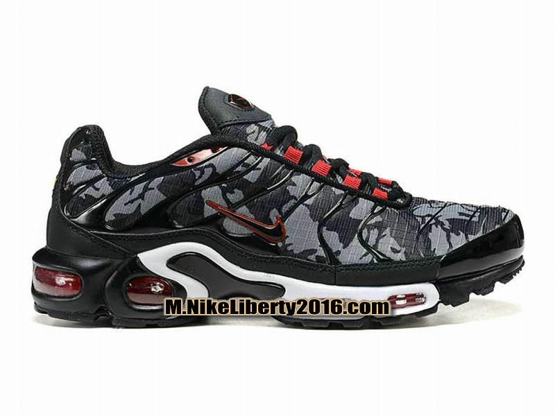 Nike Air Max Tn/Tuned Requin 2013 Chaussures de Basletball Pas Cher (Taille Homme) Gris/Noir/Blanc/Rouge