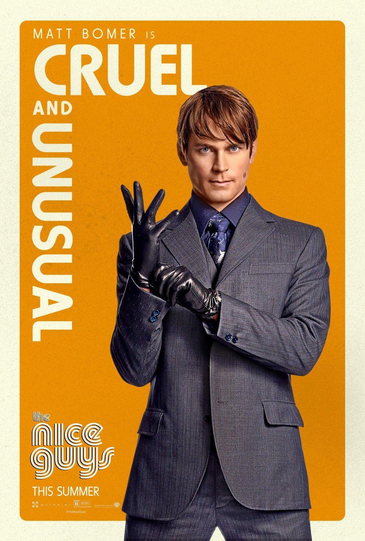 Movie Posters For The Nice Guys Matt Bomer A Good Man John Boy
