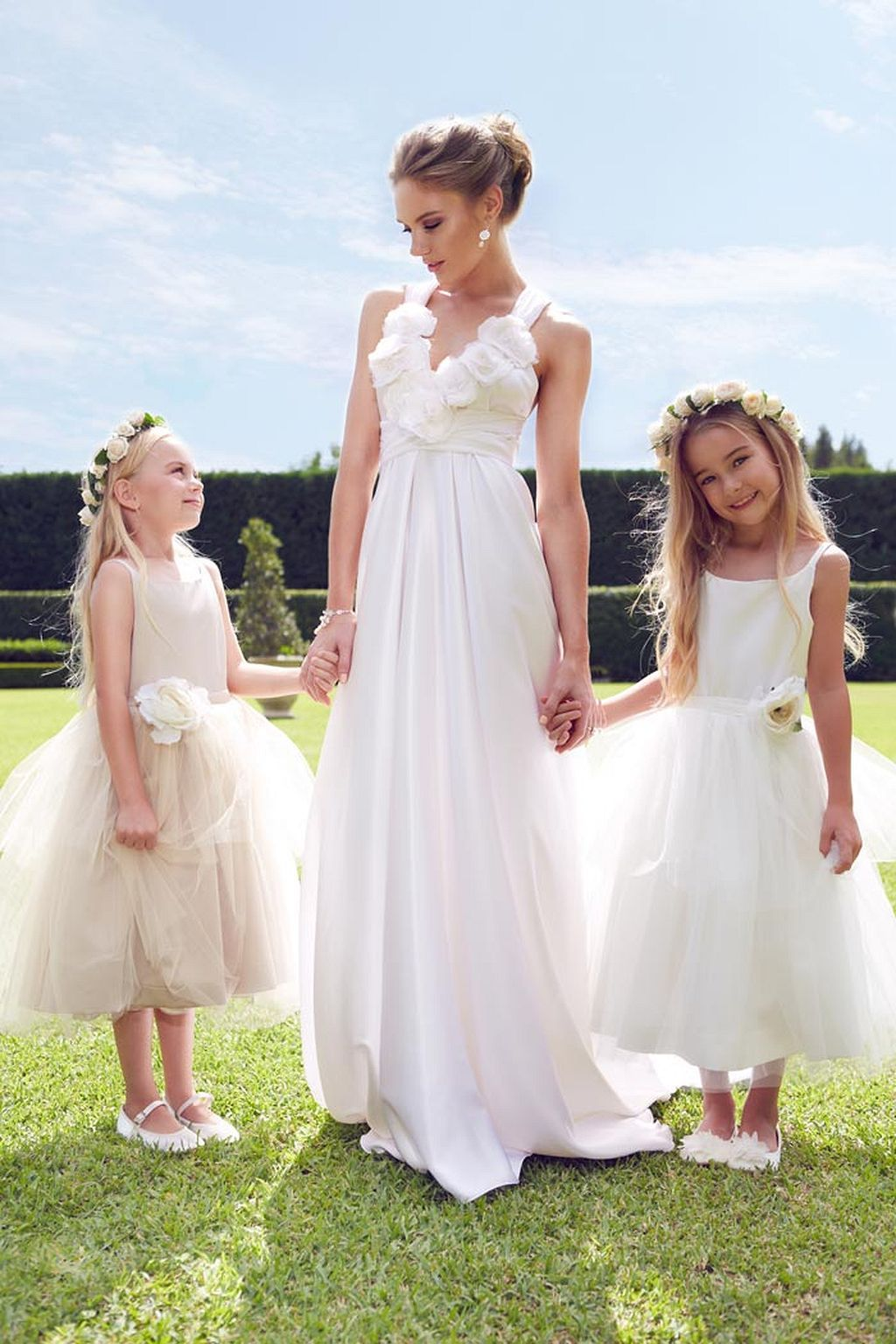 50 Pretty Garden Wedding Dress Ideas