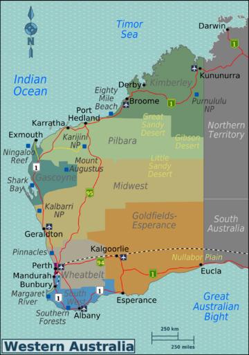 western australia travel guide wikitravel