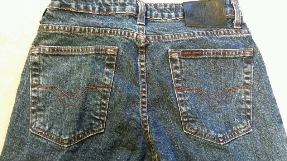 Women's  Harley Davidson motorcycle Jeans  Size 6 boot leg #HarleyDavidson #BootCut