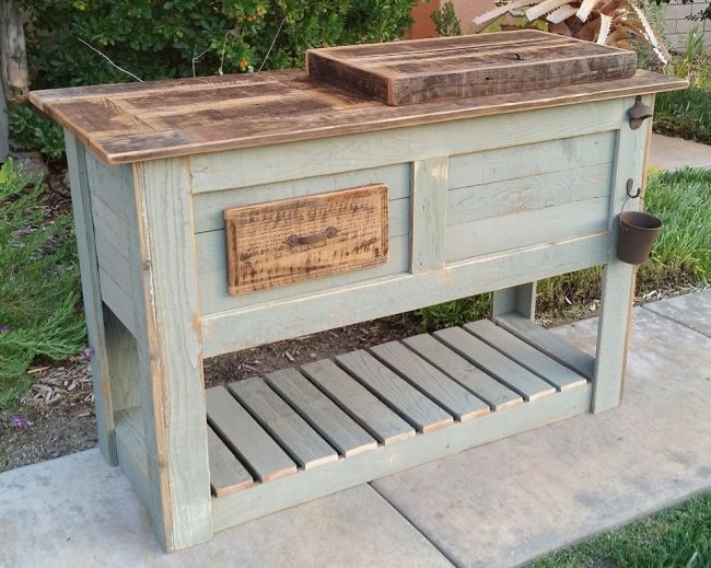 Pin By Kara Balmer On Outdoors In 2019 Wood Cooler