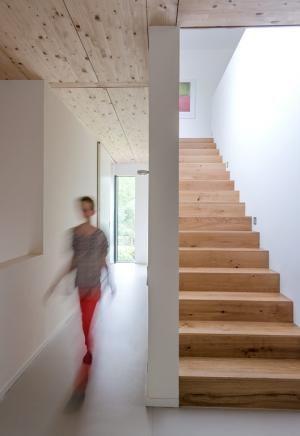 3 preis moderne villa mit l rchenholzfassade sch ner wohnen fussboden pinterest haus. Black Bedroom Furniture Sets. Home Design Ideas