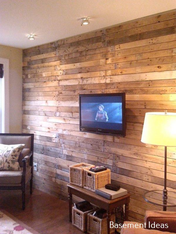Wood Paneled Game Room: You Can Turn Your Finished Basement Into A Proper Guest