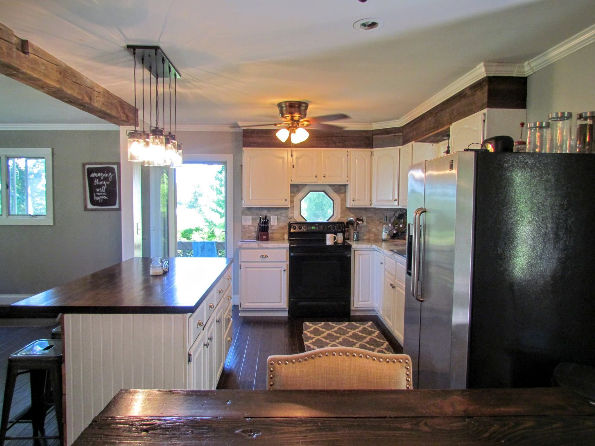 ranch style kitchen designs. House On The Hill  Before Afters Rustic Refined RePete Ranch Style House Kitchen Remodel