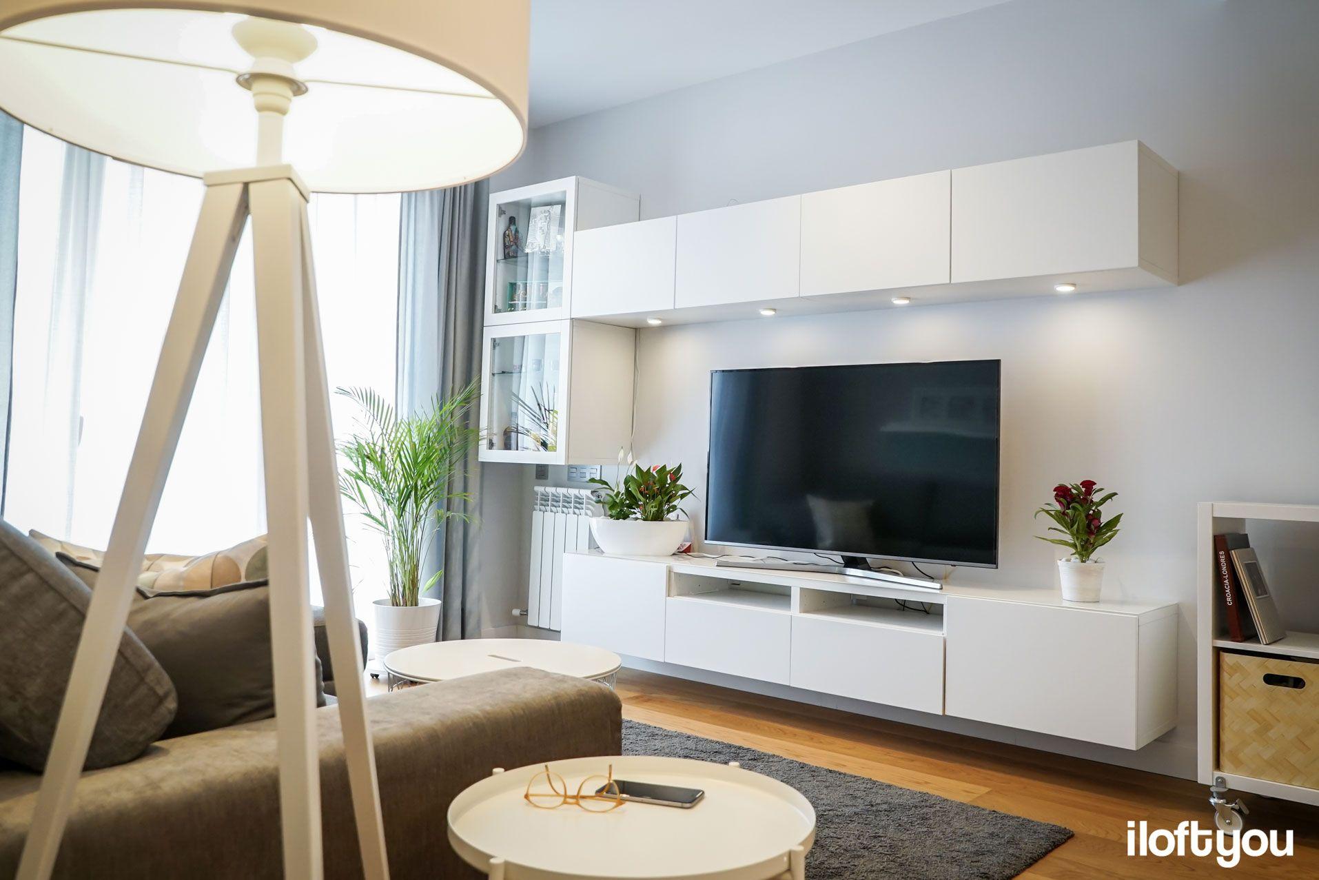 Interior design-ideen wohnzimmer mit tv nuevo piso en la calle marina u i loft you u interior design  déco