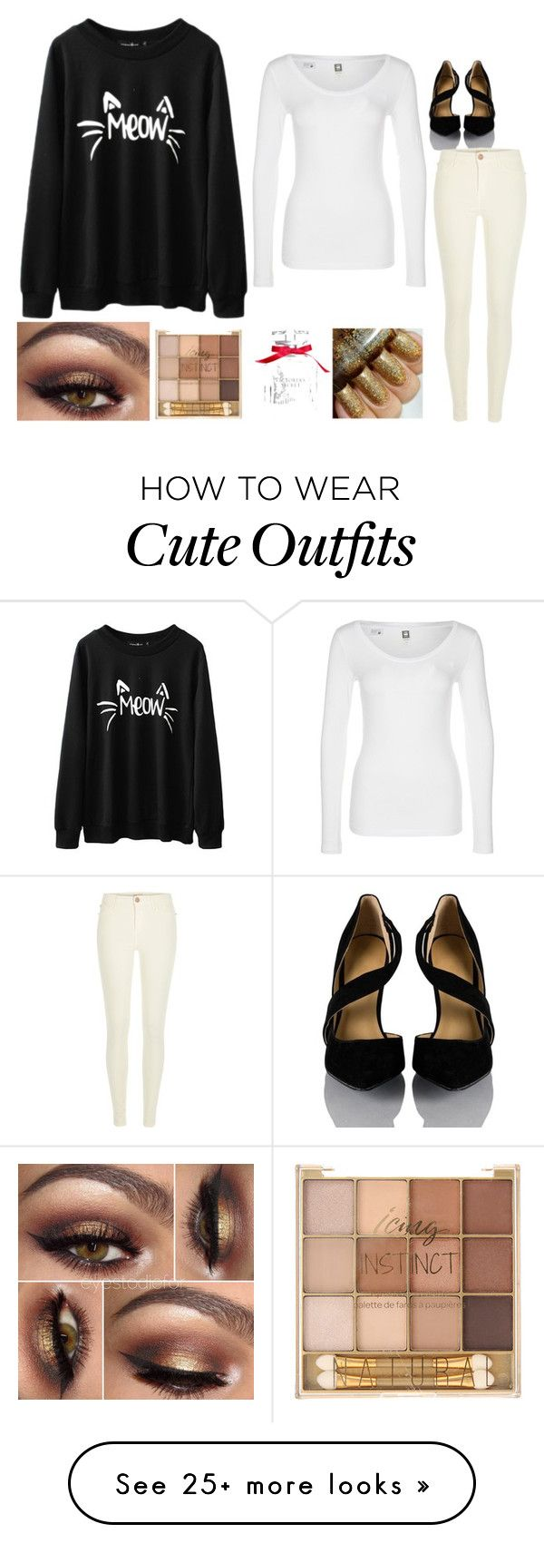"""""""Cute winter outfit"""" by queenalisa on Polyvore featuring G-Star, Victoria's Secret and River Island"""