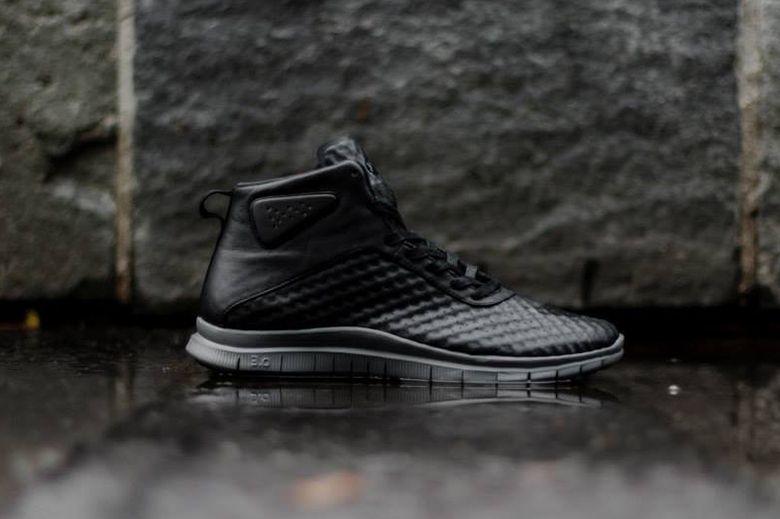 the latest 24113 d4e1a Nike is set to release a new shoe for the holiday season that is inspired  by the silhouette of a football boot. The Nike Free Hypervenom Mid has a ...