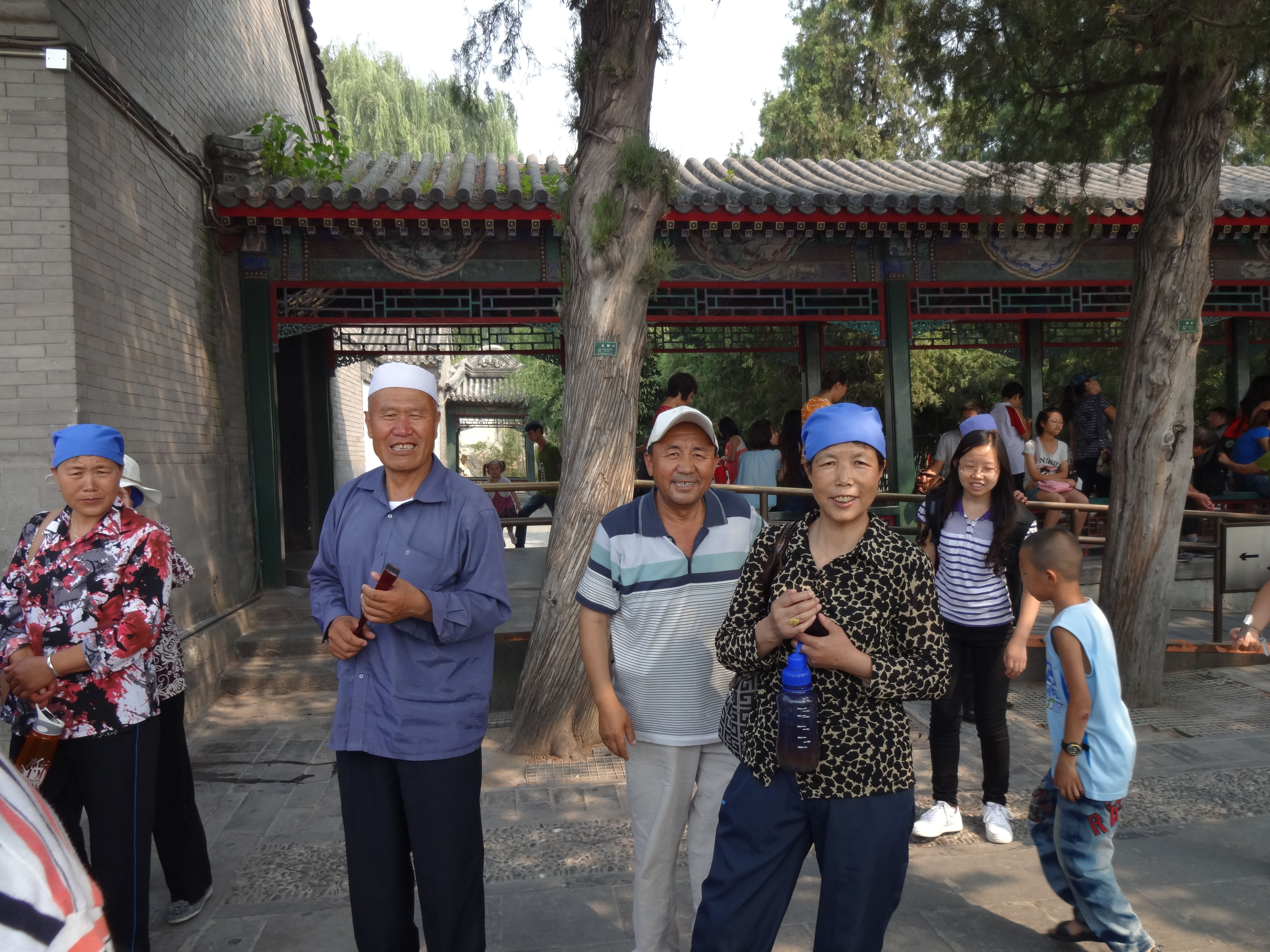 A few more stares! This time at the Summer Palace near Beijing. Awesome trip!