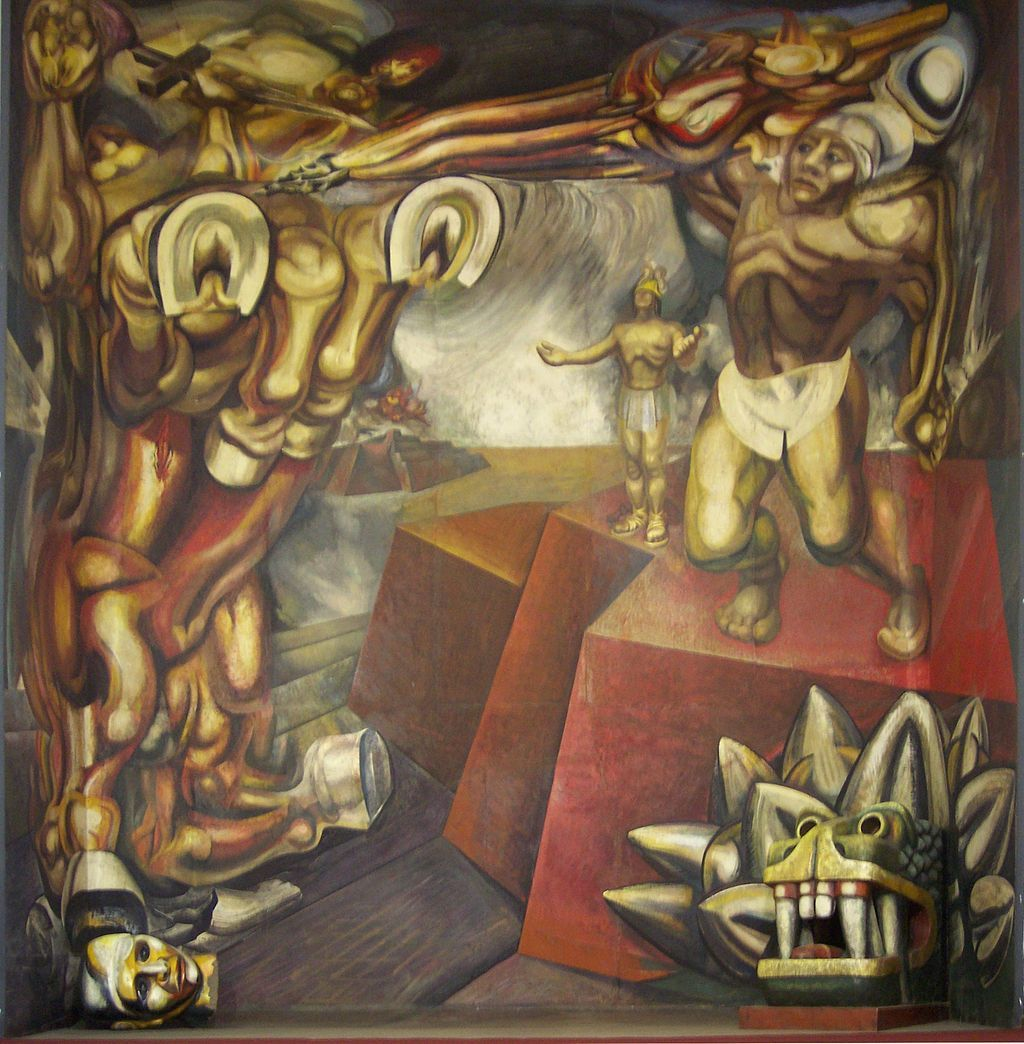 Mural David Alfaro Siqueiros En El Tecpan Tlatelolco David