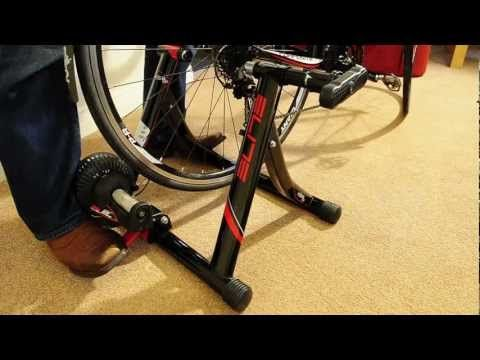 Elite Volare Mag Cycle Turbo Trainer Review Setup Noise Demo