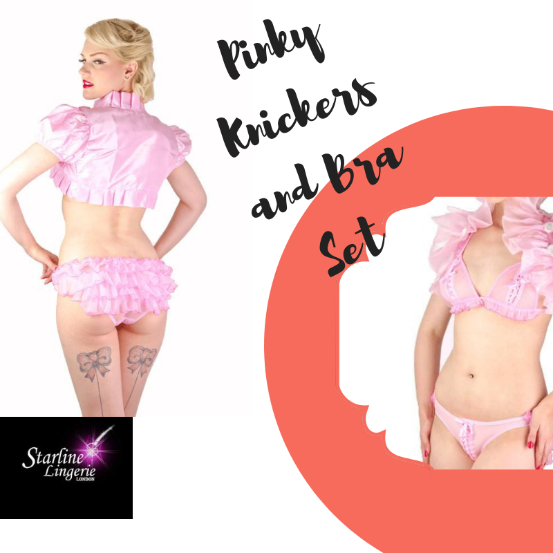 1a94602939611 Explore and embrace your sexuality with our gorgeous Pinky Set  #starlinelingerie #london #bra