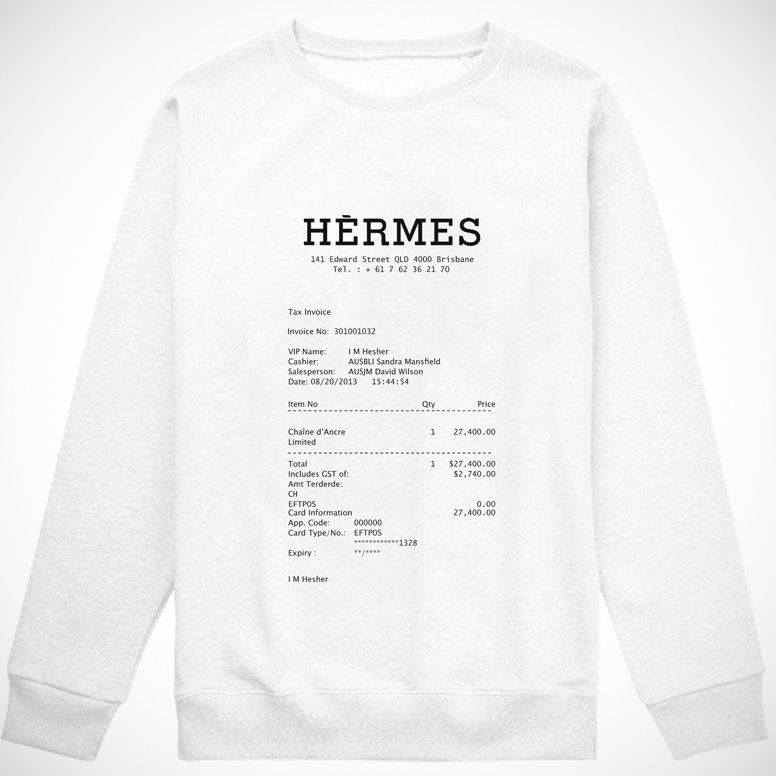 Mac Mail Read Receipt Excel Hermes Receipt Pullover By Oculto    Purchase These  How To Determine Invoice Price On A New Car with Does Gmail Have Read Receipt Word Hermes Receipt Pullover By Oculto   Jeep Wrangler Invoice Price 2014 Word
